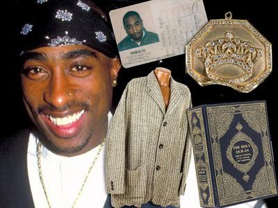 Tupac Shakur Memorabilia Auction Still A Go Despite Lawsuit Threats by Estate (PHOTO GALLERY)