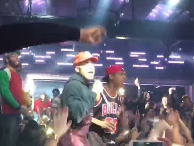 Chance the Rapper Has 'No Problem' Rocking Mic with Ja Rule (VIDEO)