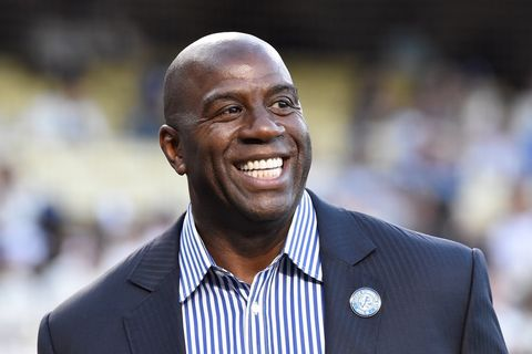 Magic Johnson, Former NBA player/CEO of Magic Johnson Enterprises