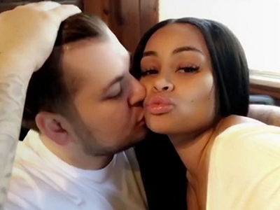 Blac Chyna & Rob Kardashian Are Back On Good Terms ... For Now (VIDEO)