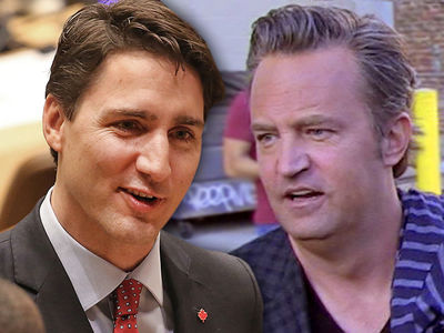 Justin Trudeau Challenges Matthew Perry to a Rematch Fight