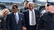 Bill Cosby Laughs It Up Outside Sexual Assault Hearing (PHOTO GALLERY)
