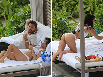 Kourtney Kardashian Reminds Scott Disick What He's Missing on Hawaiian Family Vacation (PHOTO GALLERY)