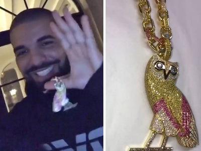 Drake Buys New $120k OVO Chain (VIDEO + PHOTO)