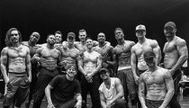 Channing Tatum Grills Vegas 'Magic Mike Live' Dancers (PHOTOS)