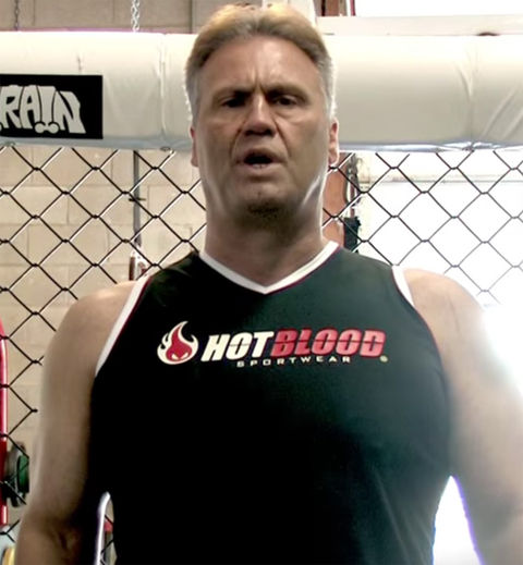 Keith Hackney was spotted on YouTube looking like a knockout.