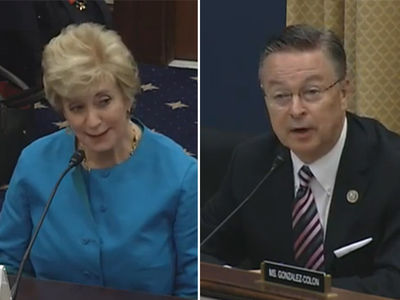 Linda McMahon Questioned By Congress ... Over John Cena Proposal (VIDEO)