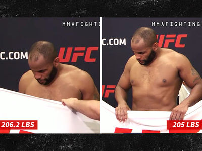 UFC's Daniel Cormier Makes Weight After Losing 1.2 Pounds in 2 Minutes! (PHOTOS + VIDEO)