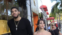 Karl-Anthony Towns' Girlfriend Is Fire