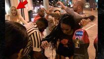 'Love & Hip Hop' Star Miss Nikki Baby Dodges Brawl at Catch (VIDEO)