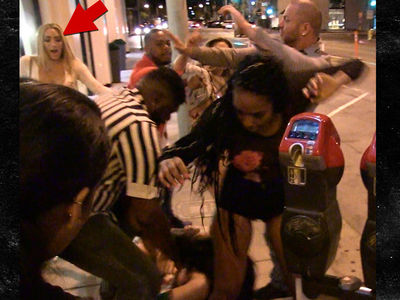 'Love & Hip Hop' Star Miss Nikki Baby Dodges Brawl at Catch (VIDEO)