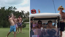 Rickie Fowler & Jordan Speith Ditch Their Shirts for Spring Break Golf Trip (VIDEO)
