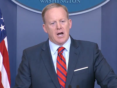 Anne Frank Center Calls for Sean Spicer's Job After Hitler Comment (UPDATE)
