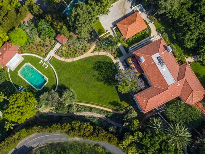 Angelina Jolie Buys 25 Million Cecil B Demille Estate