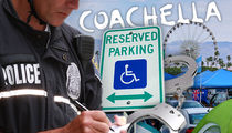 Coachella Cops Cracking Down, Bogus Handicap Parkers Beware!