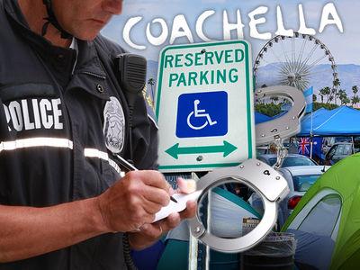 Coachella Cops Cracking Down, Bogus Handicap Parkers Beware!