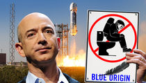 Amazon CEO Jeff Bezos Won't Let You Poop, Pee or Vomit on His Spaceship (VIDEO)