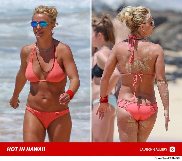 Britney spears red bikini video