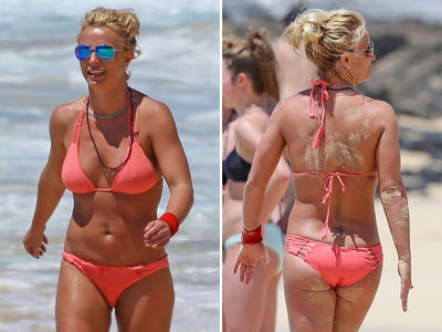 For Britney Spears, Hard Work, Bitch Pays Off in Hawaii (PHOTO GALLERY)