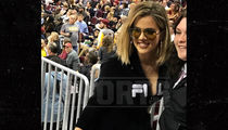 Khloe Kardashian Gets Personal Security Detail at Cavs Game (PHOTO + VIDEO)