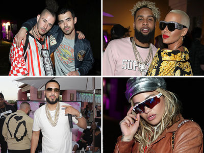 Celebrities Flock To The Desert for Coachella