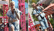 Aaron Carter Says Suck it Coachella and Performs in Vegas (PHOTOS)