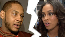 Carmelo and La La Anthony Separated (PHOTO)
