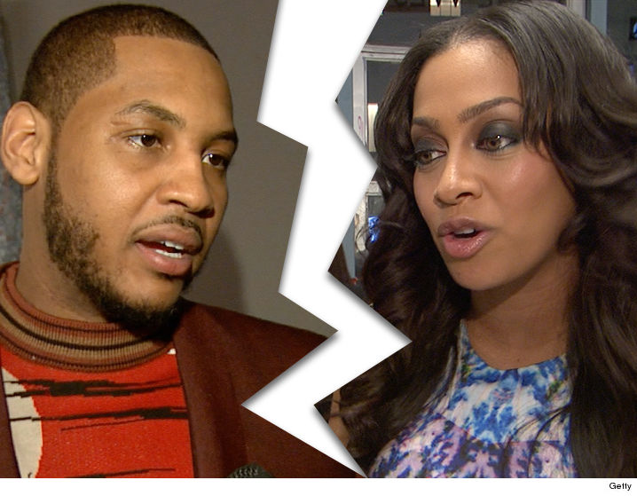 Carmelo And La Anthony Separated PHOTO
