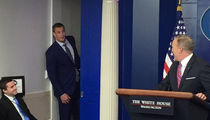 Rob Gronkowski Crashes Sean Spicer White House Press Briefing (VIDEO + PHOTO)