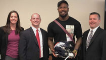 Von Miller Gets Stolen Super Bowl Helmet Back, Thanks to FBI (PHOTO)