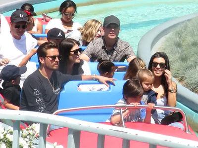 Kourtney Kardashian Throws Kid-Friendly 38th Birthday Party at Disneyland (VIDEO)