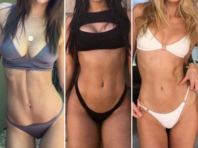 Bikini Bods at Coachella -- Guess Who!