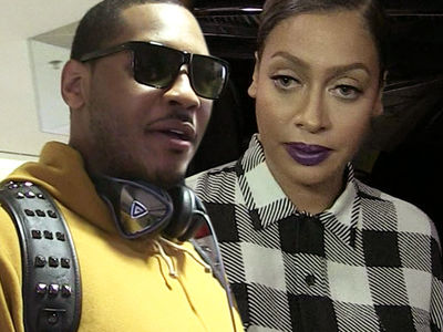 Carmelo Anthony Trying to Save Marriage with La La