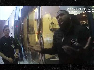 Adrien Broner Arrest Video Is Crazy, 'I Just Got Shot At'