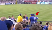New Video Of KC Royals Fan Fight Shows Man Blindsided Woman
