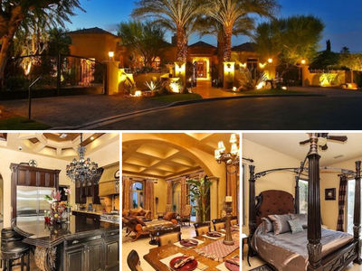 Lady Gaga Stayed in a $12 Million Coachella Crib (PHOTO GALLERY)