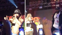 Lil Wayne Gets Pissed, Ends Concert After Thrown Drink Nearly Hits Him (VIDEOS)