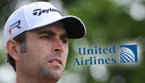 Pro Golfer Matt Goggin Blames United Airlines for Broken Clubs, Fears Dao Treatment (PHOTO)