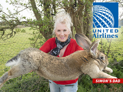 United Airlines Catches More Heat After Would-Be World's Biggest Rabbit Dies on Flight (PHOTO)