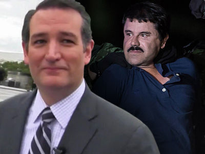 Ted Cruz Introduces Bill to Use El Chapo's Drug Money to Pay for Border Wall (PHOTO)