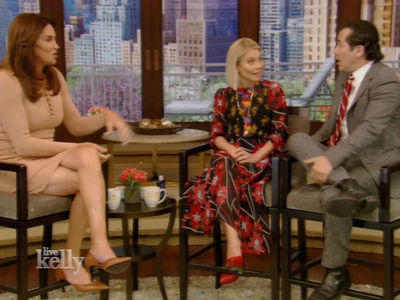 Caitlyn Jenner Asks John Leguizamo How He Liked Dressing Up Like a Woman, Awkwardness Ensues (VIDEO)
