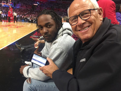 Kendrick Lamar Praised By LAPD Commissioner After Meeting at Clippers Game (VIDEO + PHOTO)