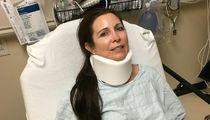 Ric Flair's Fiancee In Bad Car Crash, 'Will Be Ok' (PHOTO)