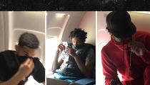 Toronto Raptors Star Farts on Team Plane, Teammates Stinkin' Mad (VIDEO)