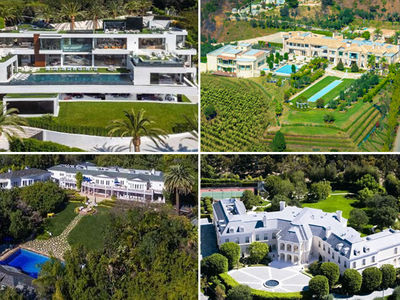 Beyonce and Jay Z Can't Find a House in L.A. On Their Budget!!! (PHOTO GALLERY)