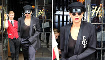 Rita Ora Steps Out in See-Through Top, No Bra (PHOTOS)