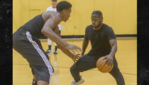 Antonio Brown Goes 1-On-1 with NBA Star Hassan Whiteside, Looks Good (VIDEO)