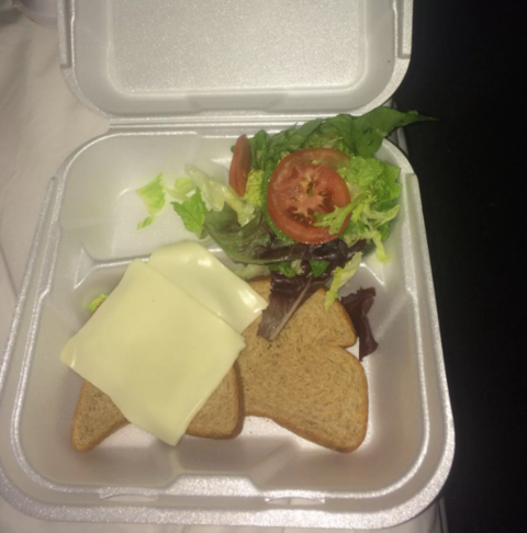 """Gourmet"" cheese sandwiches"
