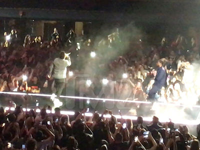 Kendrick Lamar Takes Over The Weeknd's Concert in L.A. on 25th Riot Anniversary (VIDEO)