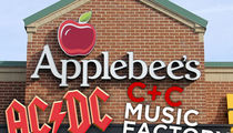Sony Sues Applebee's for Not Paying for Hit Songs Used in Commercials (UPDATE)